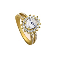 DOUBLE PAVE HALO RING