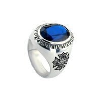 MENS SAPPHIRE MENS PERSONALISED RING