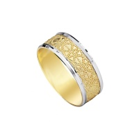 YELLOW FILIGREE BAND